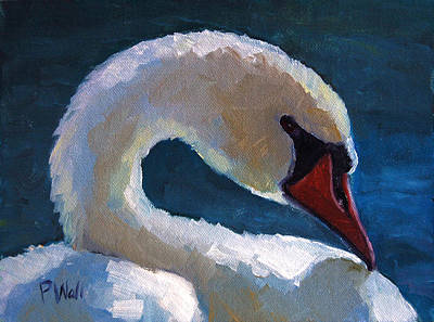 Painting - Cygnus by Pattie Wall