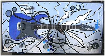 Esp Guitars Mixed Media - Cygnus X-1 by John Hoyt