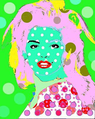 Digital Art - Cyndi Crawford by Ricky Sencion
