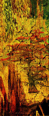 Photograph - Cypress Abstract by J Larry Walker