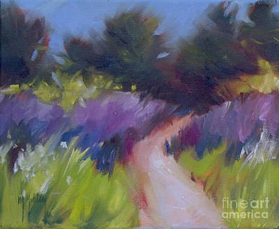 Sand Dunes Painting - Cypress Passage by Mary Hubley