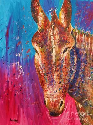 Cyprus Donkey Print by Anastasis  Anastasi