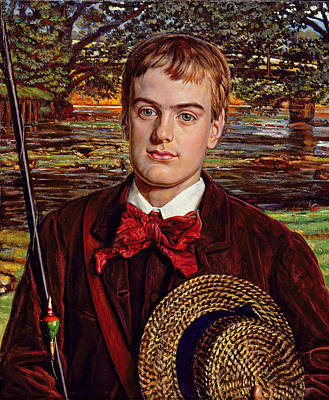 Cyril Benoni Holman Hunt, 1880 Art Print by William Holman Hunt