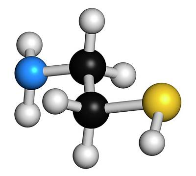 Chemical Photograph - Cysteamine Huntington's Disease Drug by Molekuul