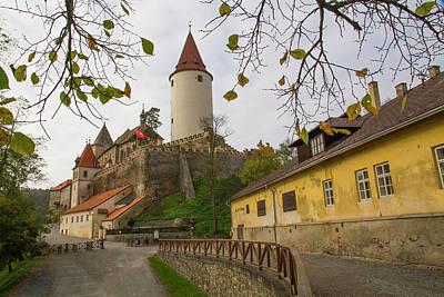 Bohemia Photograph - Czech Republic, Bohemia, Krivoklat by Emily Wilson