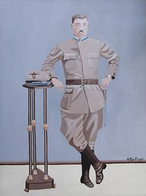 Painting - Czech Soldier by Anthony Morris