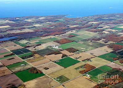 Photograph - D-021 Door County Wisconsin Farmland by Bill Lang