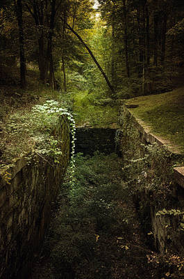 Photograph - D And H Canal Lock by Steven Mancinelli