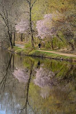 Princeton Photograph - D And R Canal Turning Basin by Steven Richman