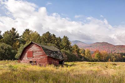 Photograph - Adirondack Barn by Denise Bush