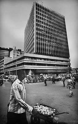 Photograph - Cms Bustop by Muyiwa OSIFUYE