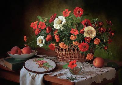 Red Flowers Photograph - D? N?d?d?n?d?d?d? D?d?d?n?n?n?d? by ??????? ????????