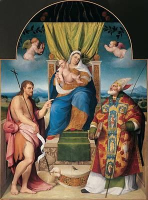 Da Ponte Jacopo Know As Bassano Art Print