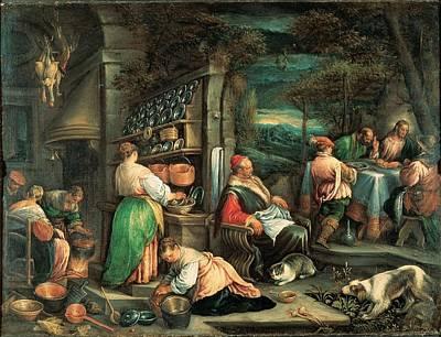 Resurrecting Photograph - Da Ponte Jacopo Know As Bassano, The by Everett