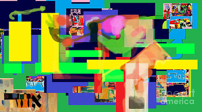 Inner Self Digital Art - Daas 1a by David Baruch Wolk