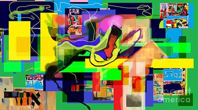 Inner Self Digital Art - Daas 1c by David Baruch Wolk