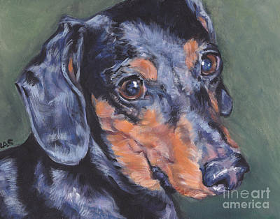 Painting - Dachschund  by Lee Ann Shepard