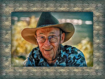 Photograph - Dad In Cowboy Mood by Hanny Heim