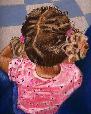 Drawing - Daddy Did It by Phyllis Anne Taylor Pannet Art Studio