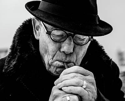 Smokers Photograph - Daddy... by Dorothea Boonstra