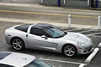 Photograph - Dad's Corvette  by Willard Killough III