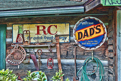 Dad's Art Print by Kenny Francis