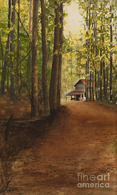 Painting - Dad's Place by Carla Dabney
