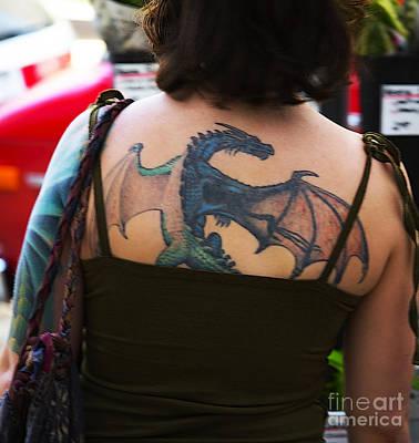 Daenerys Targaryen Photograph - Daenerys -- Mother Of Dragons by David Bearden