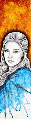 Painting - Daenerys Targaryen by Anastasis  Anastasi