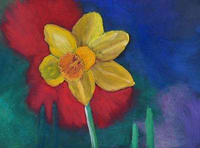 Pastel - Daffodil by Calliope Thomas