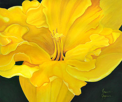 Daffodils Painting - Daffodil by Jessica Jagerson