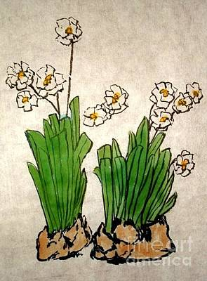 Painting - Daffodils by Katy Mei