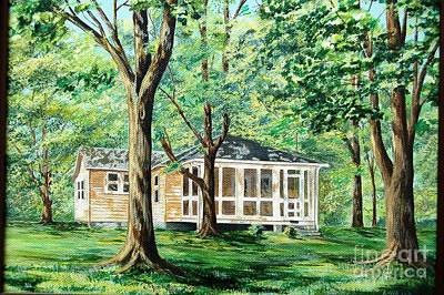 Painting - Dahlgren Home by AnnaJo Vahle