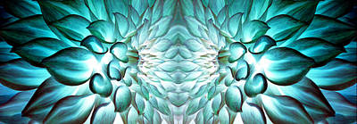Dahlia Flower Art Art Print by Sumit Mehndiratta