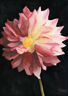 Painting - Dahlia by Ken Powers