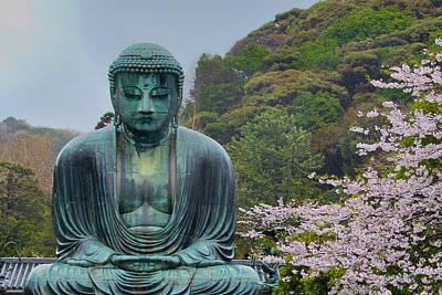 Photograph - Daibutsu Buddha by Alan Toepfer