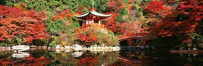 Oriental Bridges Photograph - Daigo Temple, Kyoto, Japan by Panoramic Images