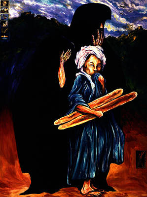 Our Daily Bread Painting - Daily Bread by Cardell Walker