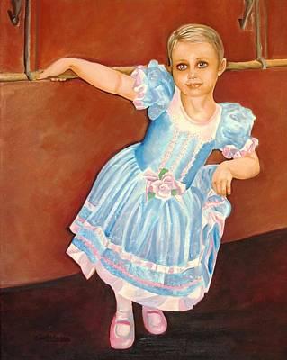 Dainty Diva Art Print by Carol Allen Anfinsen
