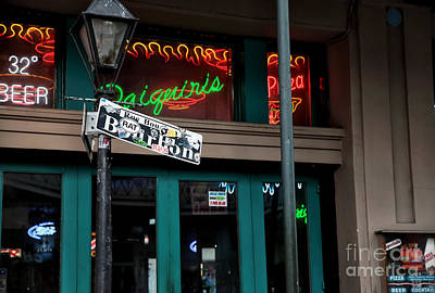 Daiquiris On Bourbon  Print by John Rizzuto