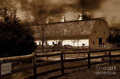 Photograph - Dairy Barn by Liane Wright