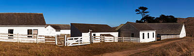 Point Reyes National Seashore Photograph - Dairy Buildings At Historic Pierce by Panoramic Images