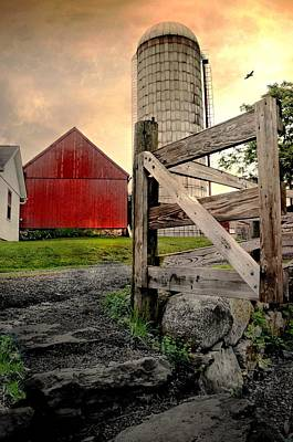 Connecticut Landscape Photograph - Dairy by Diana Angstadt