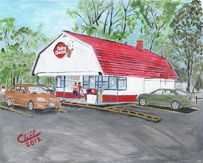 Dairy Queen  Art Print