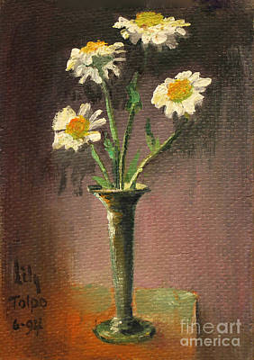 Painting - Daisies by Art By Tolpo Collection