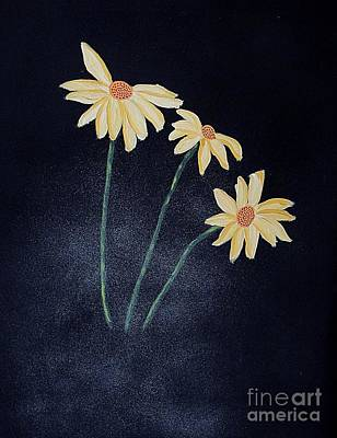Painting - Daisies In The Mist by Marcia Lee Jones