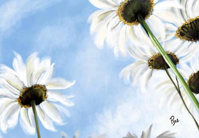 Daisies Art Print by Maria Schaefers