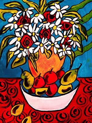 Painting - Daisies by Nikki Dalton
