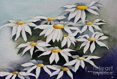 Painting - Daisies by Penny Stroening