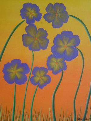 Flowers Painting - Daisies by Staci Lyons